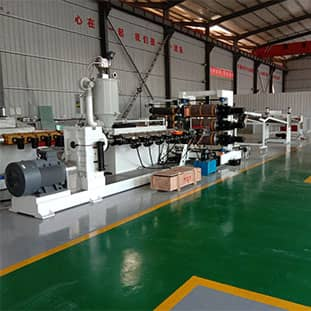 PE/PP隔板生产设备
