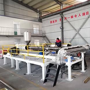 PP耐腐蚀板生产机器