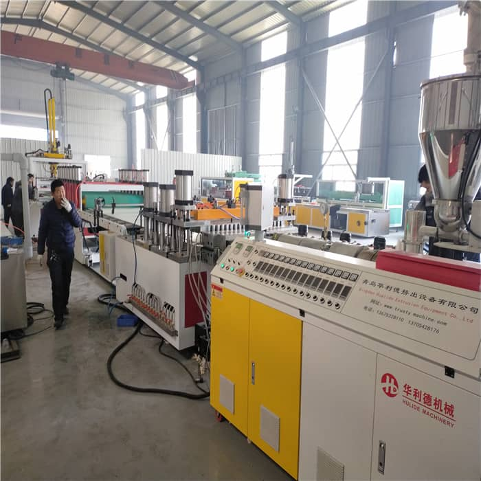 高机械化发泡板生产设备