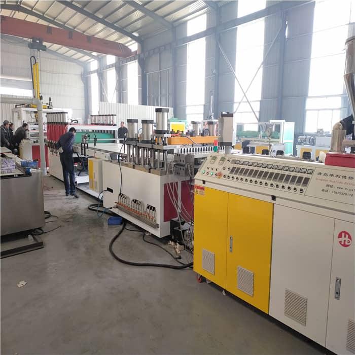 防潮PVC橱柜板生产线
