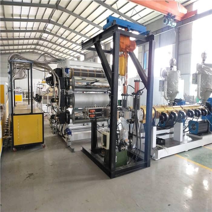 PVC发泡板雪弗板生产设备